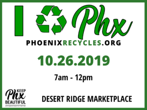 I Recycle Phoenix Event - Keep Phoenix Beautiful